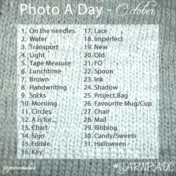 Photo A Day Challenge - Oct