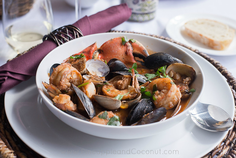 Spicy Cioppino My Way Gourmetgetaway Pineapple And Coconut