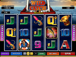 Wild Catch slot game online review