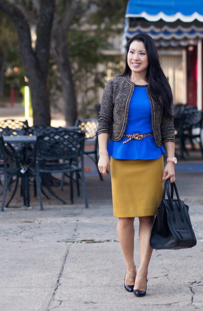 Michael kors on mustard fashion