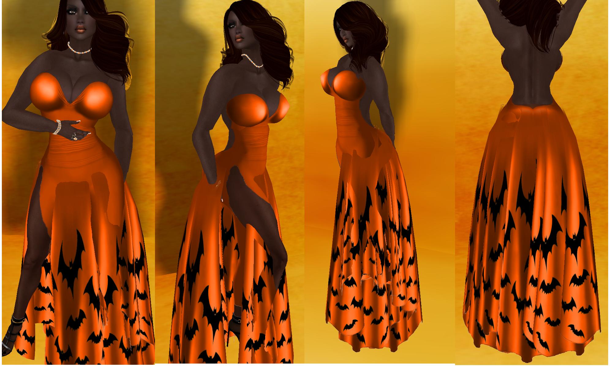 Batty Bat Gown from ~PixyStix~
