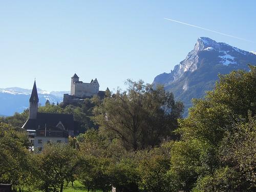 Balzersのお城