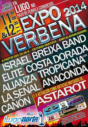 Lugo 2014 - Expoverbena - cartel