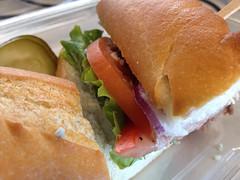 Roast Beef Sandwich from City Kitchen.