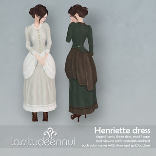 lassitude & ennui Henriette dress for Fantasy Faire 2014
