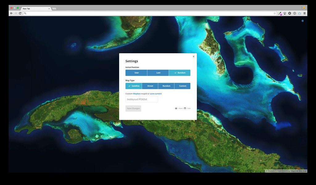 Customize MapTab