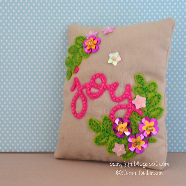 Scripty Joy Blissful Botanicals lavender bag