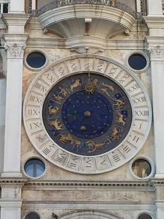 Clock in St. Mark's Plaza