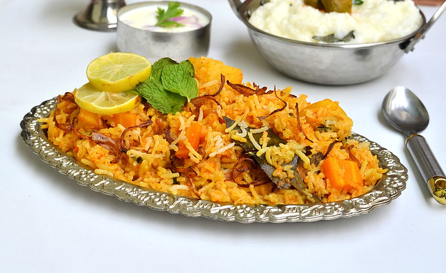 how to make hyderabadi veg biryani