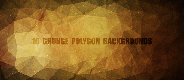 12 Polygon Backgrounds - 4 Styles