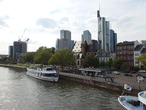 Frankfurt Old Town Main River - Frankfurt river