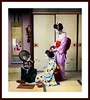 TWO PRETTY GEISHA and a GHOST IN THE MIRROR