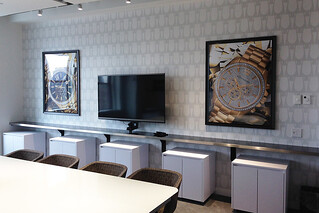 Printed and Framed Graphics for Bulova New Office in NYC, Empire State Building