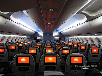 Avianca B787-8 Economy (RD)