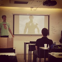 I made the #UXDI #ux students do pecha kucha presentations. Hilarity ensued.