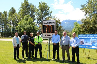 Safety improvements on Trans-Canada Highway