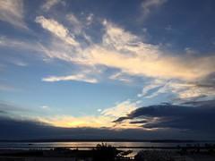 A super day to enjoy. Wong home. Grateful. 🙏#everettsunsets #pnw #pnwonderland #sunset #liveineverett #eveningsky #water #glowy #clouds #cloudscape #layersoflight #portgardnerbay #portofeverett #whidbeyisland #jettyisland #golden