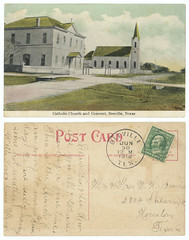 Catholic Church and Convent, Beeville, Texas