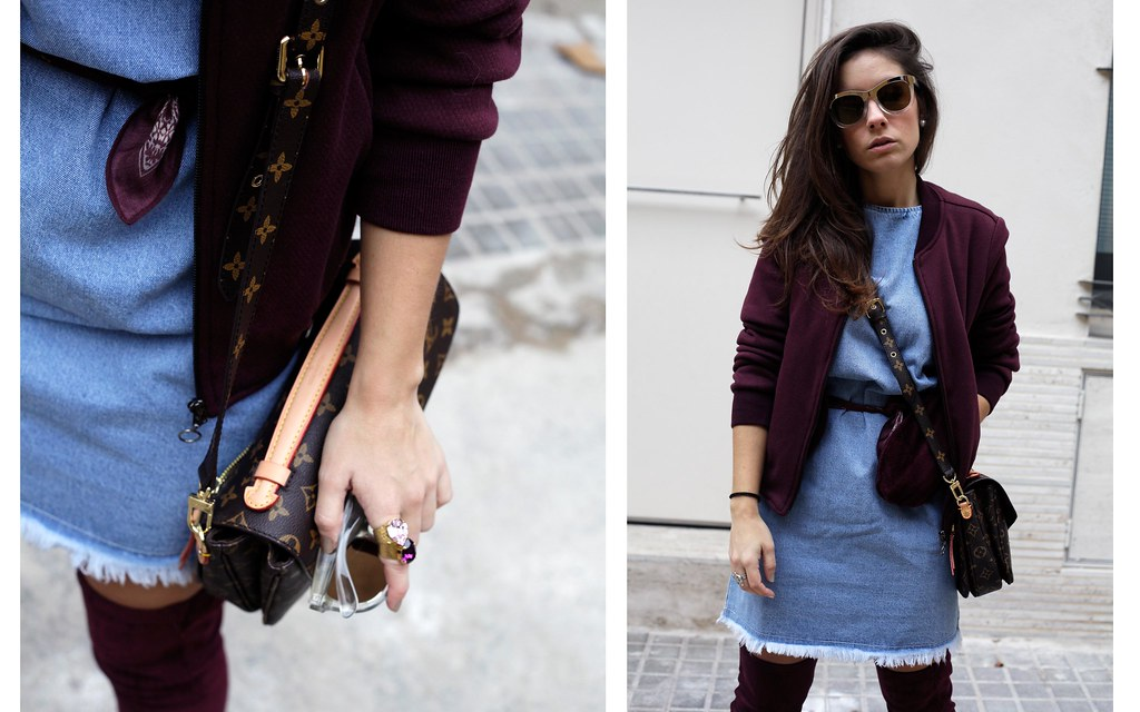 07_how_to_wear_bomber_burgundy_outfit_theguestgirl_streetstyle_barcelona