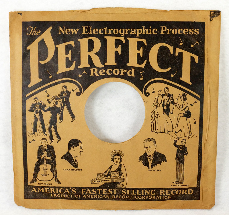 RD14635 3 Vintage PERFECT 78 RPM Album Sleeves American Record Corporation DSC06742