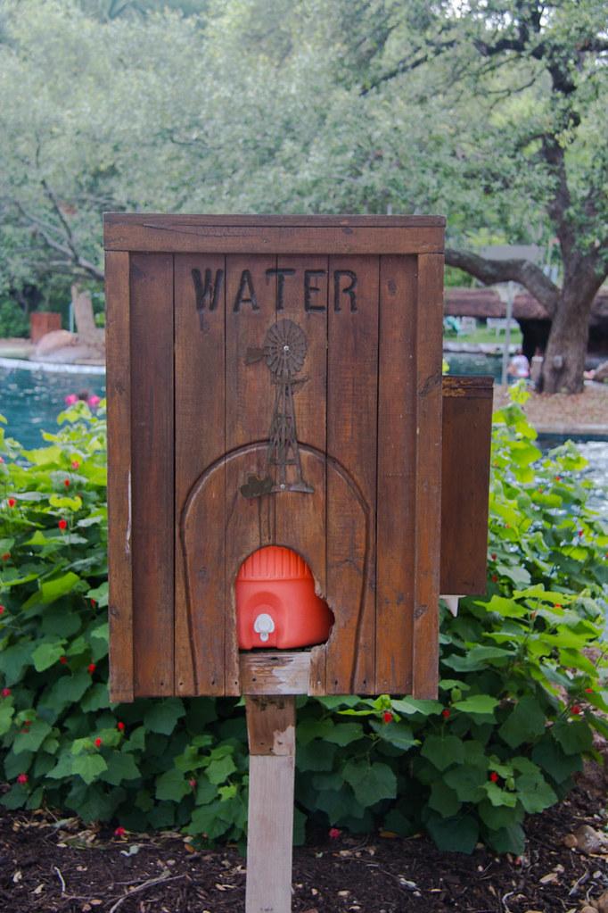Water dispensing station at Hyatt Hill Country