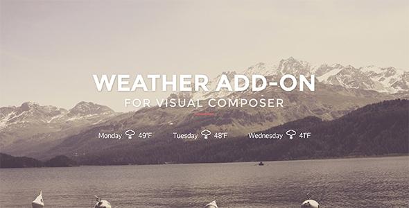 Weather for Visual Composer v1.0