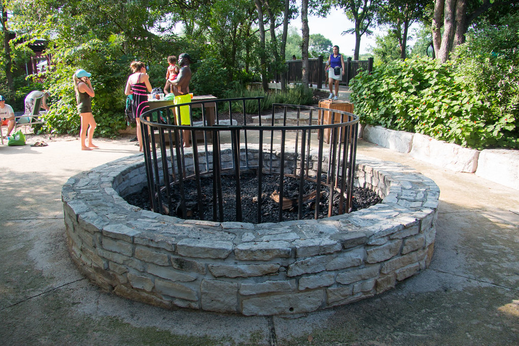 Firepit for s'mores