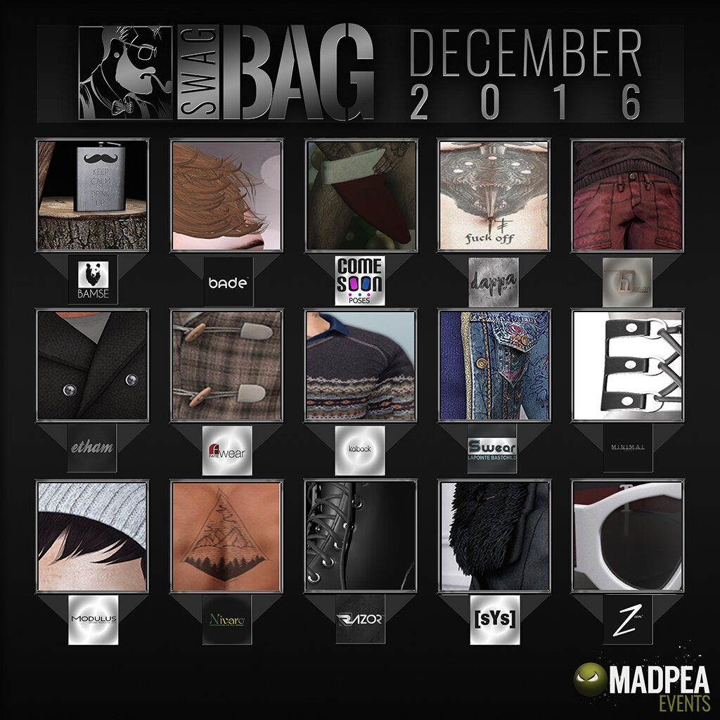 SwagBag December! - SecondLifeHub.com
