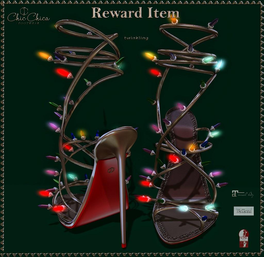 ChicChica for The Arcade, Reward Item - SecondLifeHub.com
