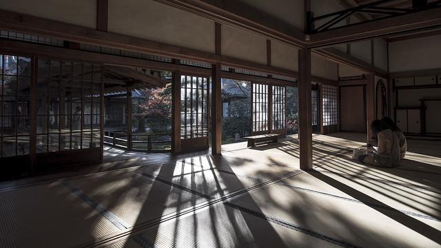 Kenninji Tatami Reflections 畳を照らす日, Nikon D750, AF-S Nikkor 20mm f/1.8G ED