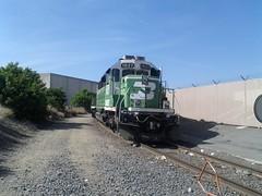 BNSF 1827 SD40-2