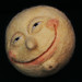 The Moon by Textile Art/Needle Felting