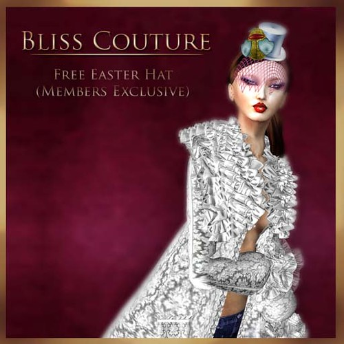 Free Easter Hat Ad (Members Exclusive) by Cherokeeh Asteria