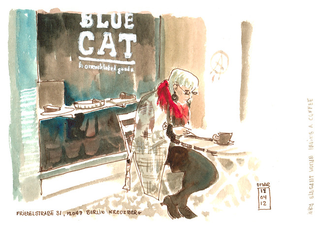 Cafe Blue Cat