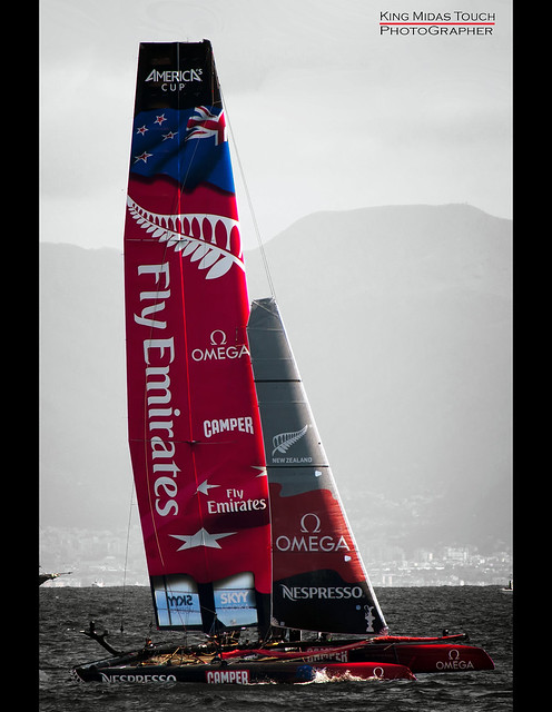 America's Cup World Series Napoli por King Midas Touch