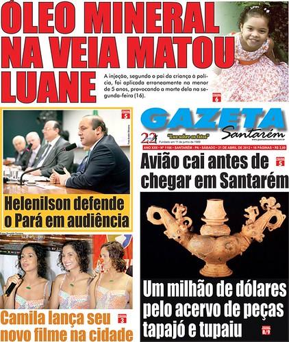 Capa 1166 da Gazeta de Santarém