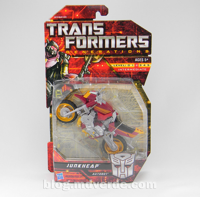Transformers Junkheap Deluxe - Generations - caja
