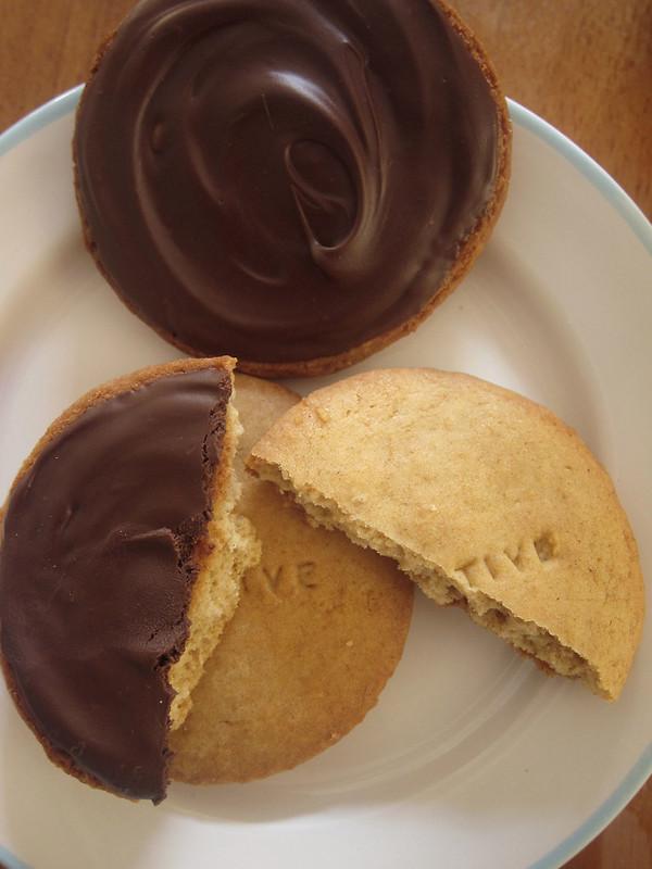Digestive biscuits!