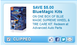 Blue Magic Supreme Wheel & Tire Care Kit. Redeem At Advanced Auto Parts  Coupon