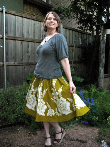 Circle Skirt Re-fashion
