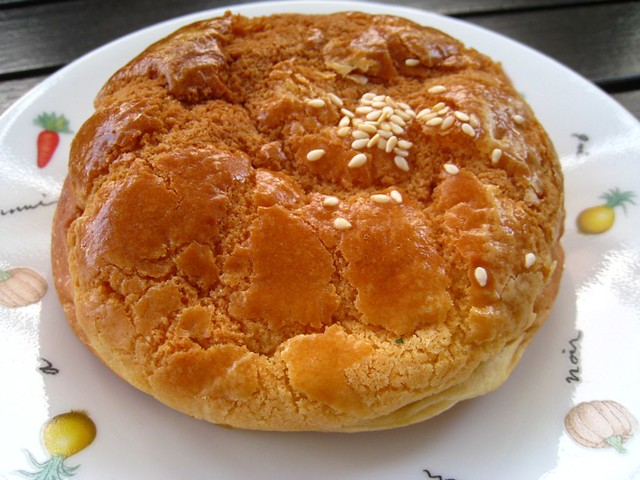 Chicken Char Siew Bor Lor Bao 雞肉叉燒菠蘿包 (HK-Style Polo Bun)