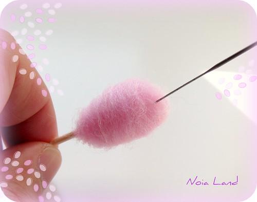 Tutorial: Algodón de Azúcar en miniatura6