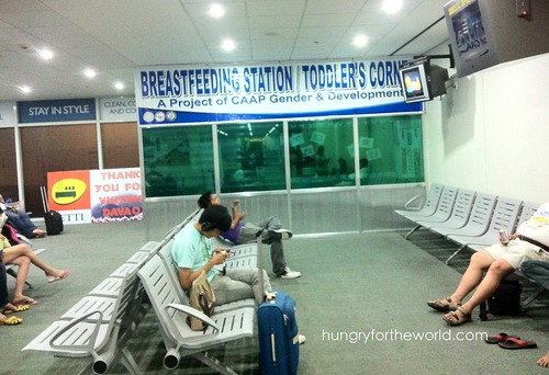 Toddler and Breastfeeding Room Within a Philippine Airport