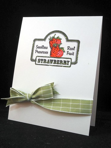 Strawberry CAS card