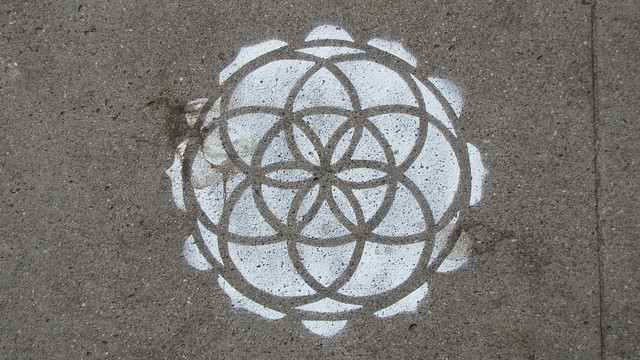 Sacred Geometry Stencils Sacred Geometry Flickr