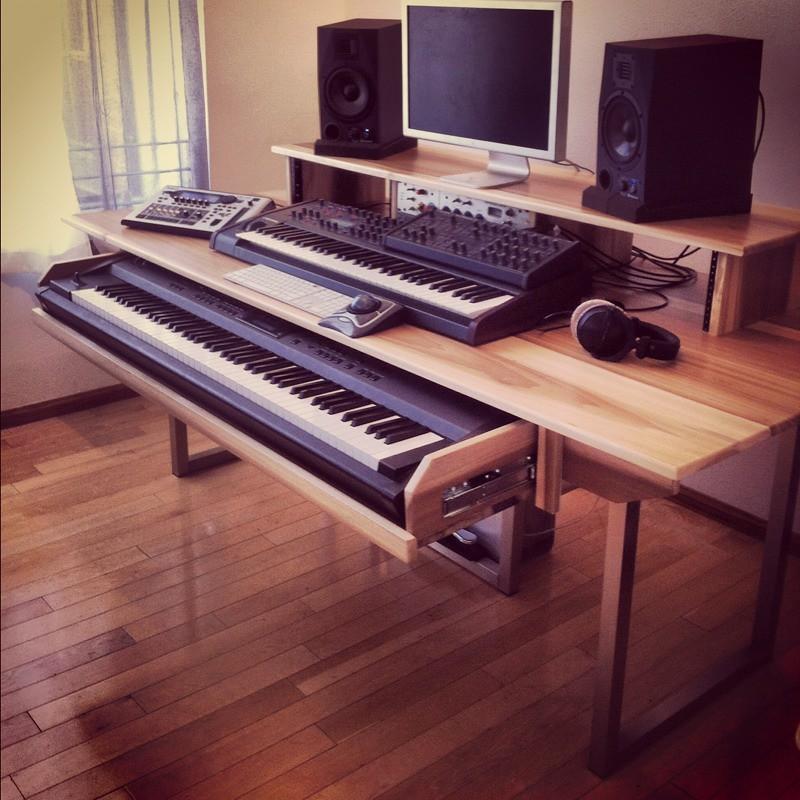 New Studio Table Monkwood