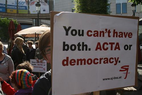 STOP ACTA Aktion