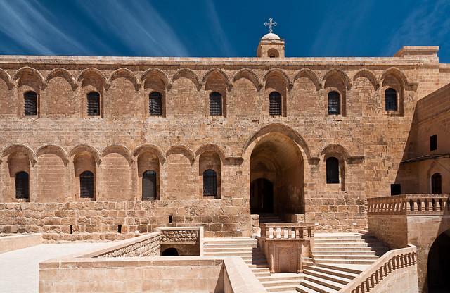 Monasterio de Deyrun Zafaran en Turquia