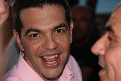 Alexis Tsipras, head of the The Radical Left Coalition, SYRIZA