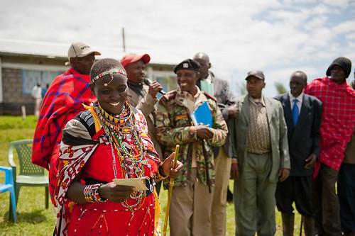 Maasai woman, Espinosa